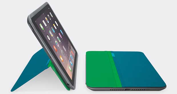 logitech1 19 11 14 - Logitech AnyAngle: cover multi-angolo iPad Air 2