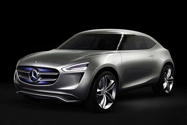 mercedes 04 11 2014 - Mercedes Vision G-Code: auto con vernice solare