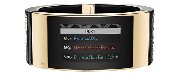 """mica 7 2 18 11 2014 - Intel MICA: braccialetto """"smart"""" di lusso"""