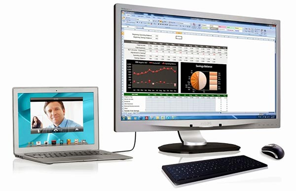 philips 25 11 2014 - Philips 231P4QUPES: monitor con USB docking