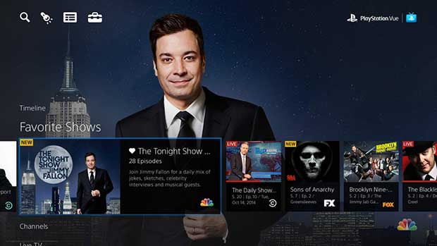 psvue2 14 11 14 - PlayStation Vue: la TV in streaming VOD