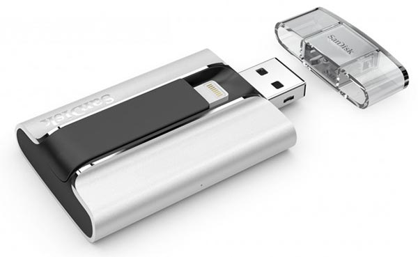 sandisk 14 11 2014 - SanDisk iXpand Flash Drive con connettore Lightning