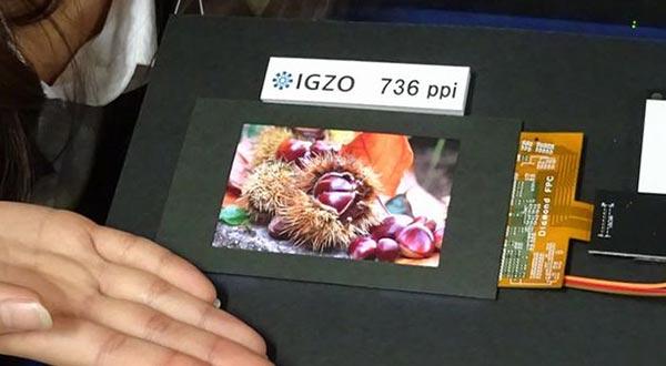 """sharp 14 11 2014 - Sharp: pannello WQXGA da 4,1"""" e 736 ppi"""