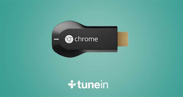 tunein1 26 11 14 - App TuneIn compatibile Chromecast