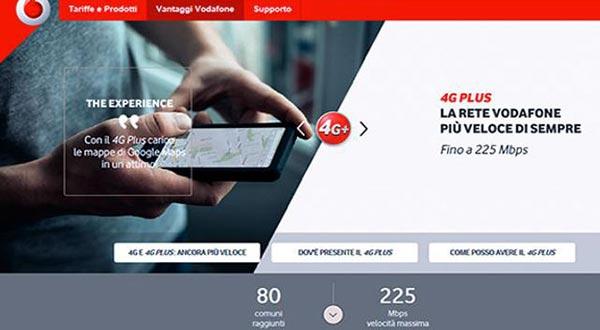 vodafone evi 27 11 2014 - Vodafone: rete 4G+ a 225Mbps in 80 città