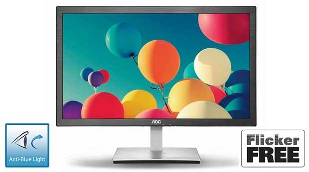 aoc2 17 12 14 - AOC: monitor con Anti-Blue Light e Flicker Free
