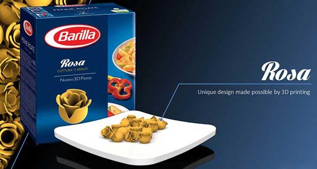 barilla1 23 12 14 - Barilla crea nuova pasta con la stampa 3D