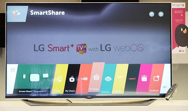 lg 18 12 2014 - LG: TV con webOS 2.0 al CES 2015