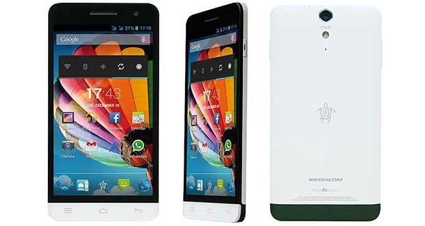 """mediacom1 15 12 14 - Mediacom PhonePad X510U: 5"""" 8 core Dual-SIM"""