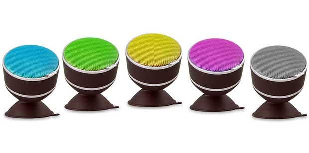 """neomi1 10 12 14 - NEOMI: speaker BT colorato e """"da doccia"""""""