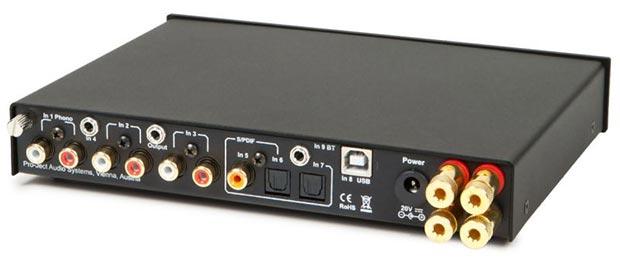 project 31 12 2014 - Pro-Ject MaiA: ampli stereo con DAC USB e Bluetooth