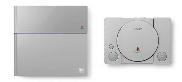 ps4limited2 03 12 14 - PS4 Limited Edition in stile PlayStation One