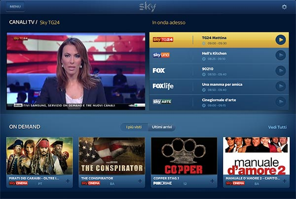 skygo 03 12 2014 - Sky Go disponibile su tablet Asus Fonepad 7