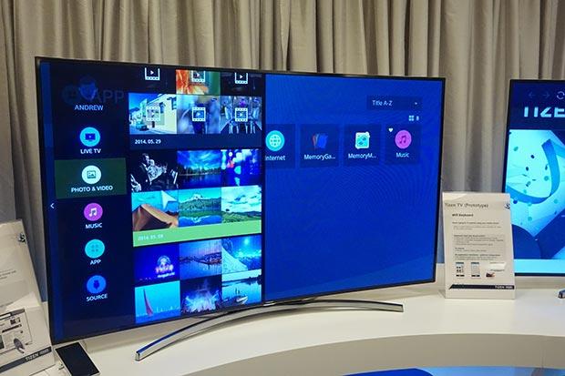 tizen 11 12 2014 - Le Smart TV Tizen esordiranno al CES 2015