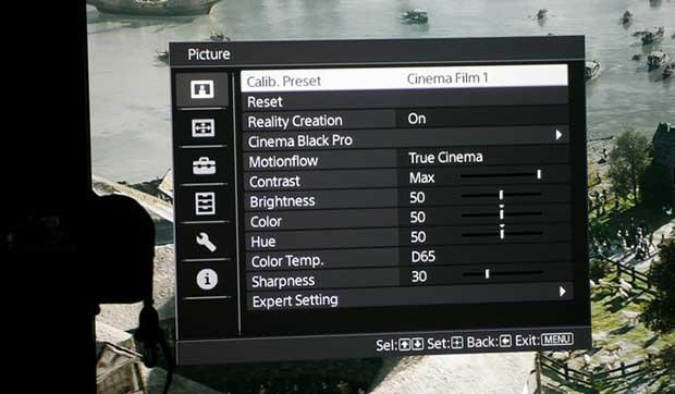 art sony300 13 - Proiettore 4K Sony VPL-VW300ES - La prova