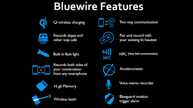 bluewire3 28 01 15 - Bluewire: cuffia Bluetooth registratore e walkie-talkie