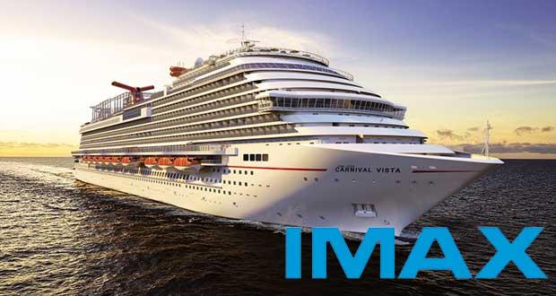 carnivalimax1 26 01 15 - Nave da crociera con cinema IMAX e 4D