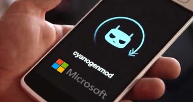 cyanogen 30 01 15 - Microsoft investe in Cyanogen (Android)