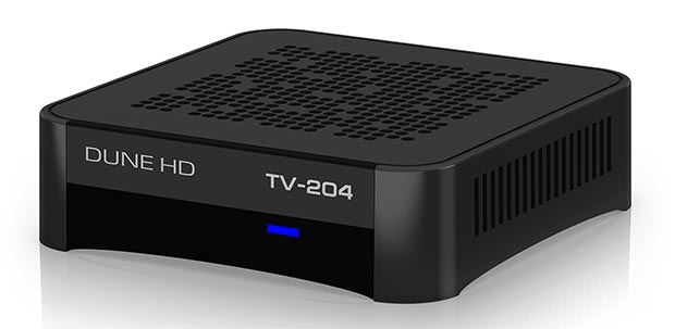 dunehd 19 01 2015 - Dune HD: media-player TV-204 con tuner TV
