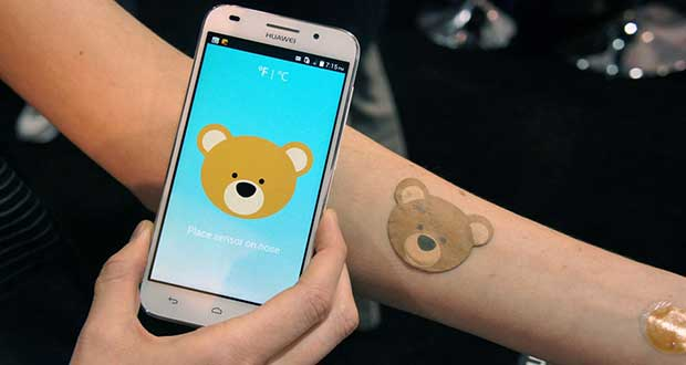 "eskin1 08 01 15 - VivaLnk eSkin: termometro ""orsetto"" NFC"