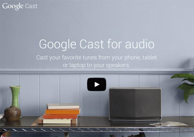 google cast 07 01 2015 - Google Cast lancia lo streaming audio musicale