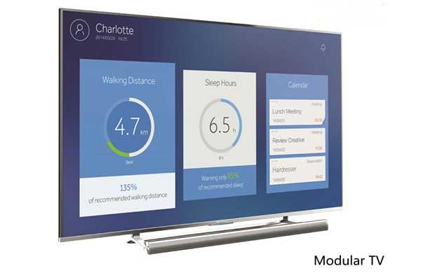 "haier3 05 01 15 - Haier: TV LCD curvo 105"", OLED 55"" e Modular TV"