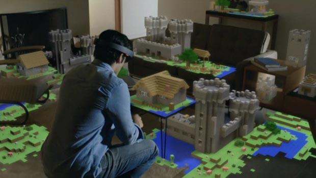 hololens 21 01 2015 - HoloLens: visore Microsoft per realtà aumentata