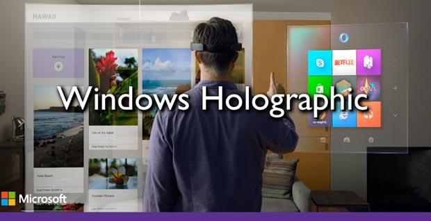 hololens 3 21 01 2015 - HoloLens: visore Microsoft per realtà aumentata