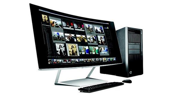 hp 05 01 2015 - HP svela i nuovi monitor 5K, interattivi e curvi