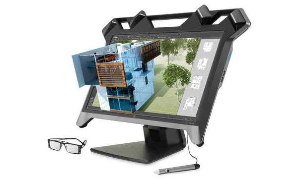 hp 3 05 01 2015 - HP svela i nuovi monitor 5K, interattivi e curvi