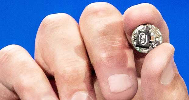 """intelcurie1 07 01 15 - Intel Curie: mini-processore per """"indossabili"""""""