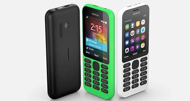 nokia1 05 01 15 - Nokia 215: smartphone a meno di 30 Euro