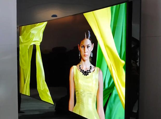 "panasonic oled 07 01 2015 - Panasonic: OLED TV Ultra HD da 65"" in arrivo"