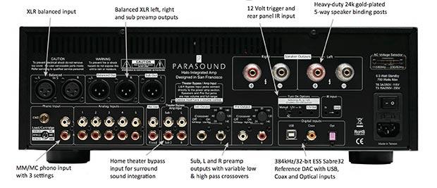 parasound 2 12 01 2015 - Parasound Halo Integrated: ampli 2.1 e DAC