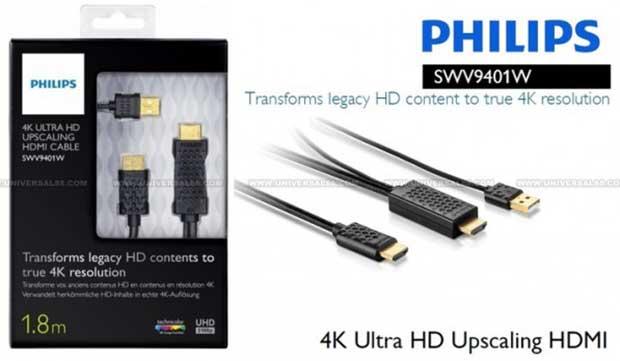 philips4k2 14 01 15 - Philips SWV9401W: cavo HDMI con upscaling 4K