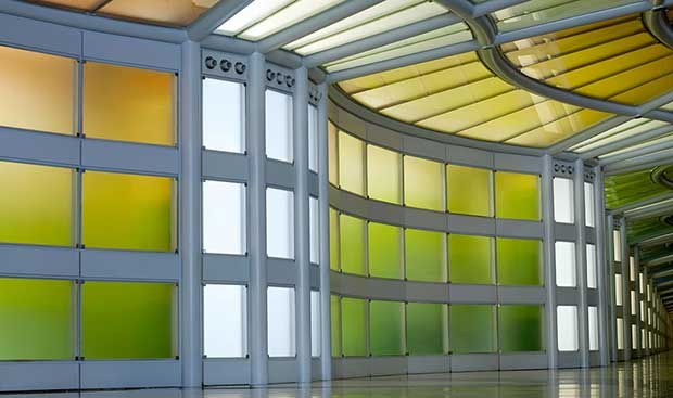 """prism1 07 01 15 - E-Ink Prism: pareti """"smart"""" che cambiano colore"""