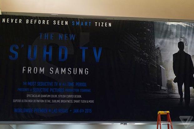 samsung 3 05 01 2015 - Samsung S UHD TV: prime immagini e dettagli