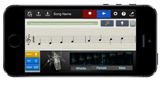 casio1 03 02 15 - Casio: App che rende chiunque musicista