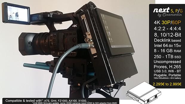 cinemartin 25 02 2015 - Cinemartin annuncia un recorder portatile 4K