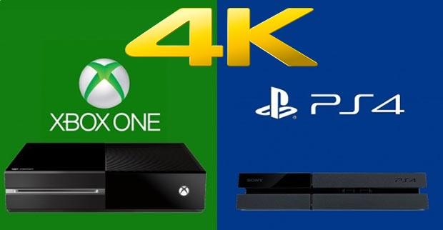console 4k 06 02 2015 - Nuove versioni di Xbox One e PS4 per il 4K?