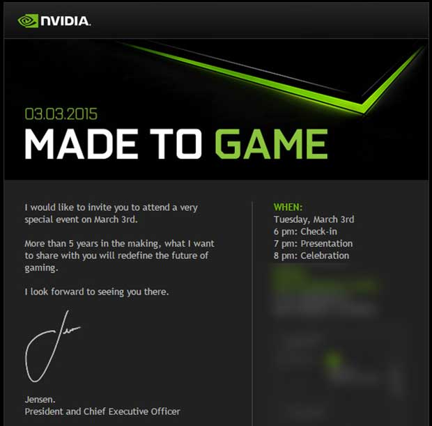 nvidia2 13 02 15 - Nvidia: importante novità Gaming in arrivo