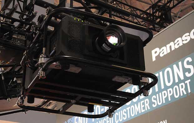 """panasonic3 13 02 15 - Panasonic PT-RQ13K: DLP 3 chip """"4K+"""""""