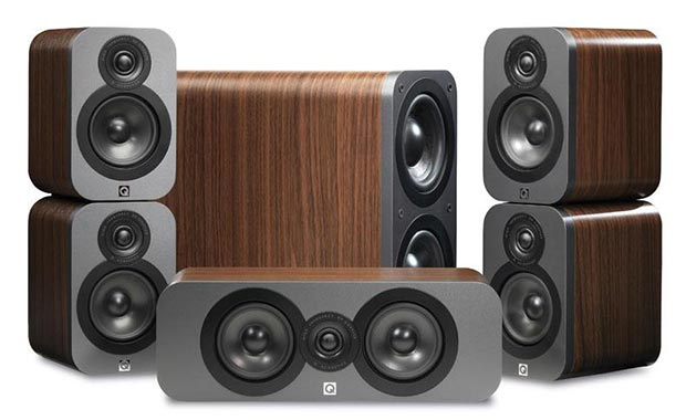 q3000 20 02 2015 - Q Acoustics Q3000: diffusori home cinema