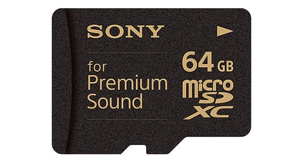 sony 20 02 2015 - Sony SR-64HXA: microSD per lettori audio premium