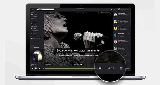 spotify1 26 02 15 - Spotify: nuova versione desktop con Karaoke