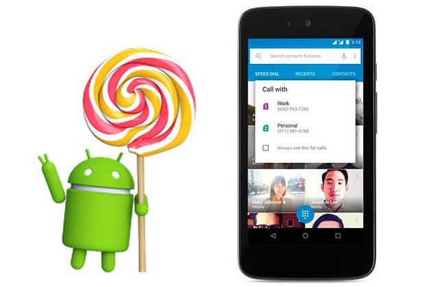 android1 10 03 15 - Android Lollipop 5.1 in arrivo: dual-SIM e sicurezza
