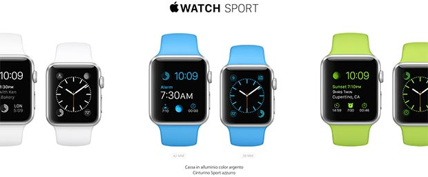 apple watch 4 09 03 2015 - Apple Watch: dal 24 Aprile a partire da 349$