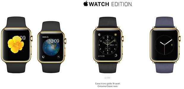apple watch 7 09 03 2015 - Apple Watch: dal 24 Aprile a partire da 349$