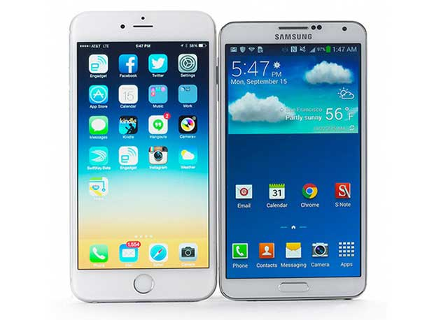 applevssamsung1 04 03 15 - Apple supera Samsung nelle vendite smartphone