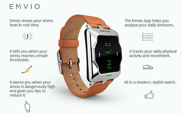 emvio2 30 03 15 - Emvio: lo smartwatch che misura lo stress